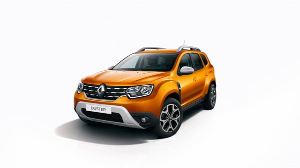 All-New Renault DUSTER orange colour