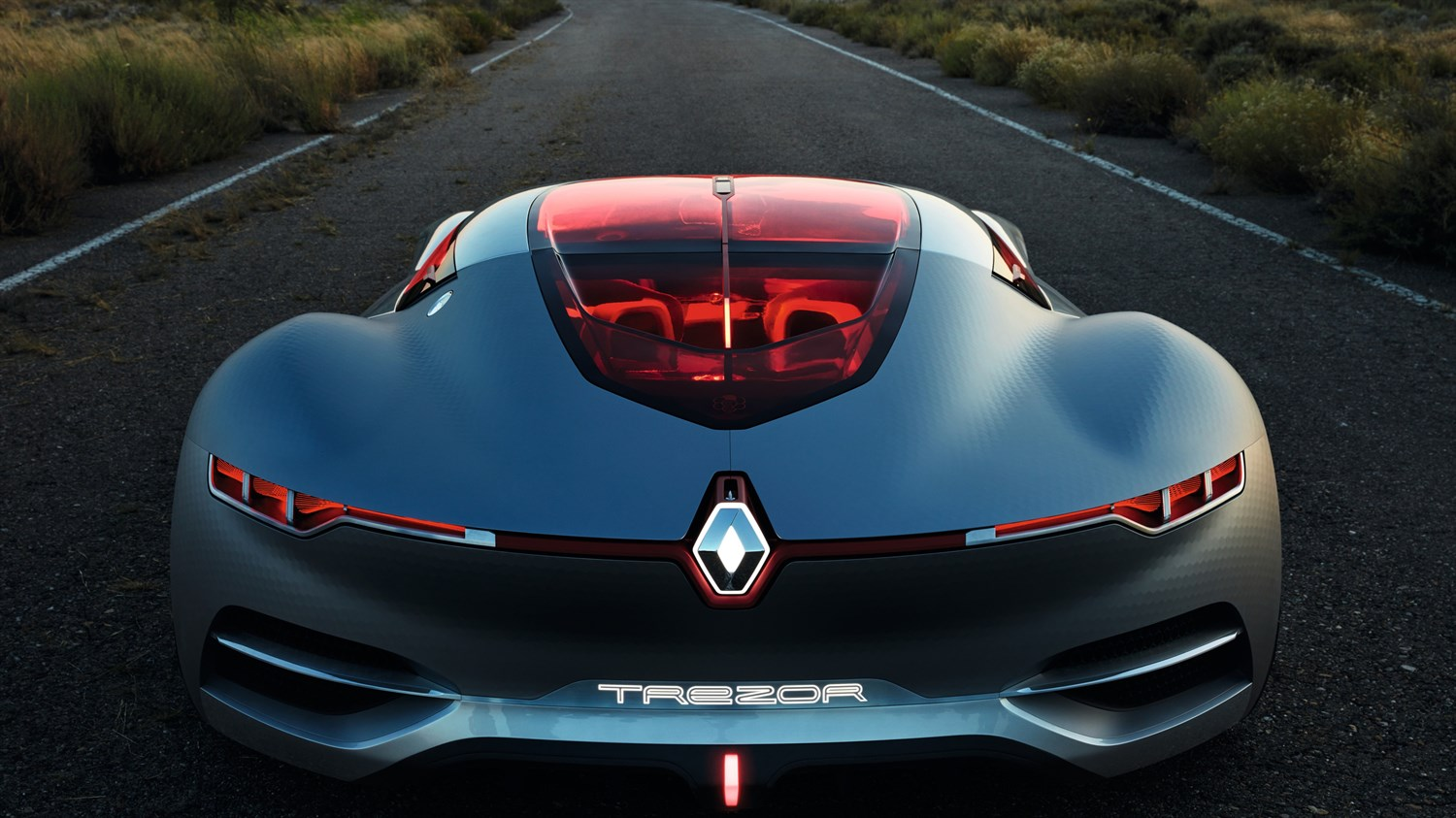Renault TREZOR concept car exterior design back view